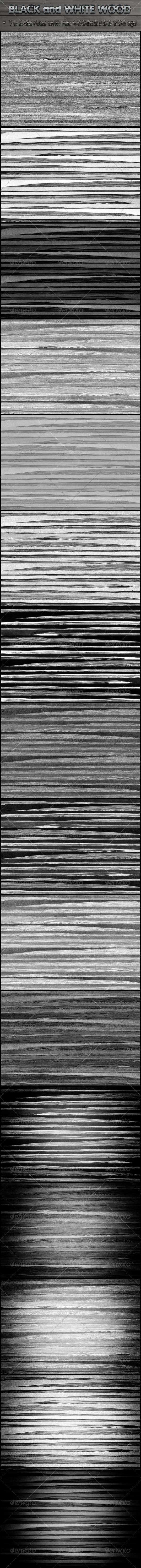 Wood Black and White - Miscellaneous Backgrounds