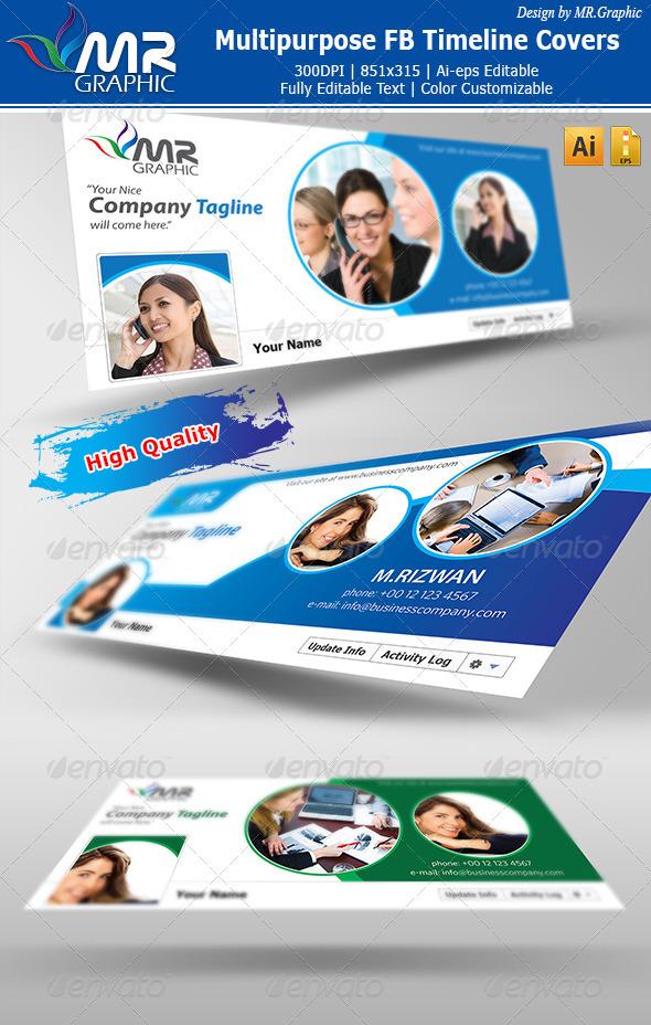 Multipurpose FB Timeline Covers - Facebook Timeline Covers Social Media
