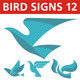 Birds Sign 12 - GraphicRiver Item for Sale