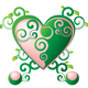 green heart - GraphicRiver Item for Sale