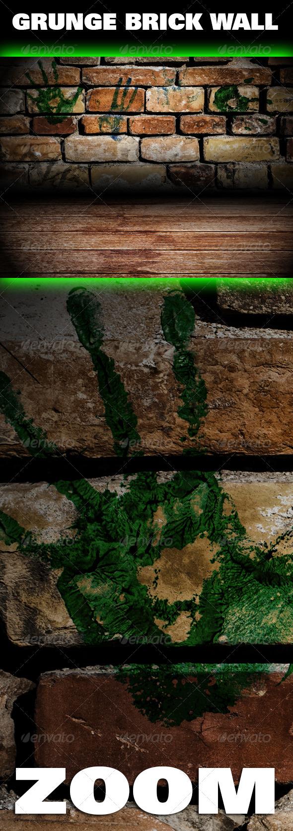 Grunge Brick Wall Texture - Industrial / Grunge Textures
