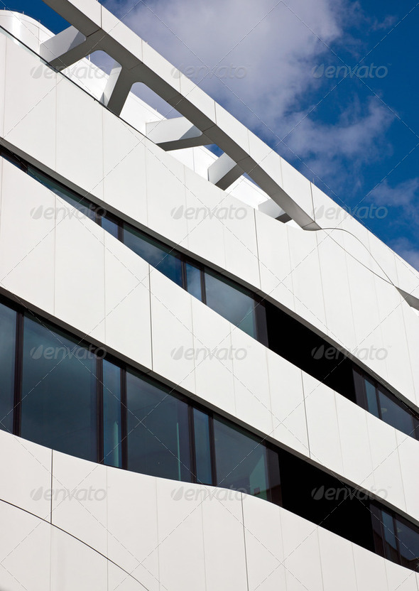 Modern architecture in Berlin - Stock Photo - Images