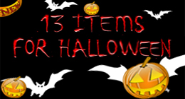 13 Items for Halloween