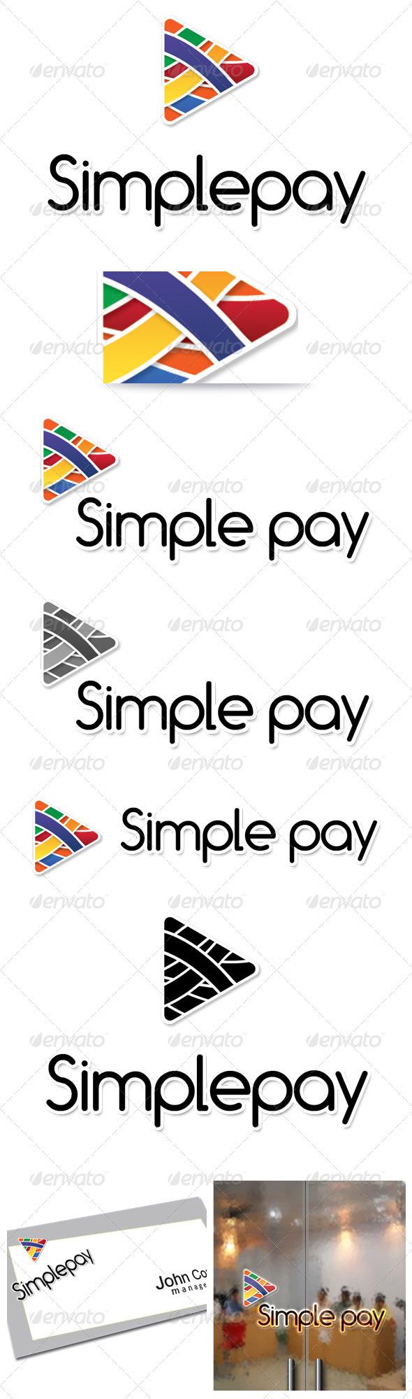 Simple Play  - Symbols Logo Templates