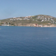 Calm Sea with Hills of an Island - VideoHive Item for Sale