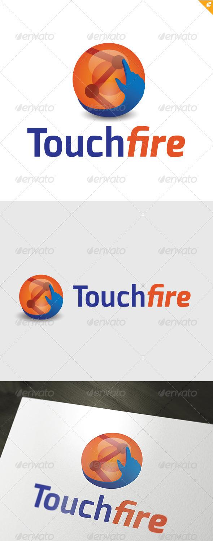 Touchfire Logo - Symbols Logo Templates
