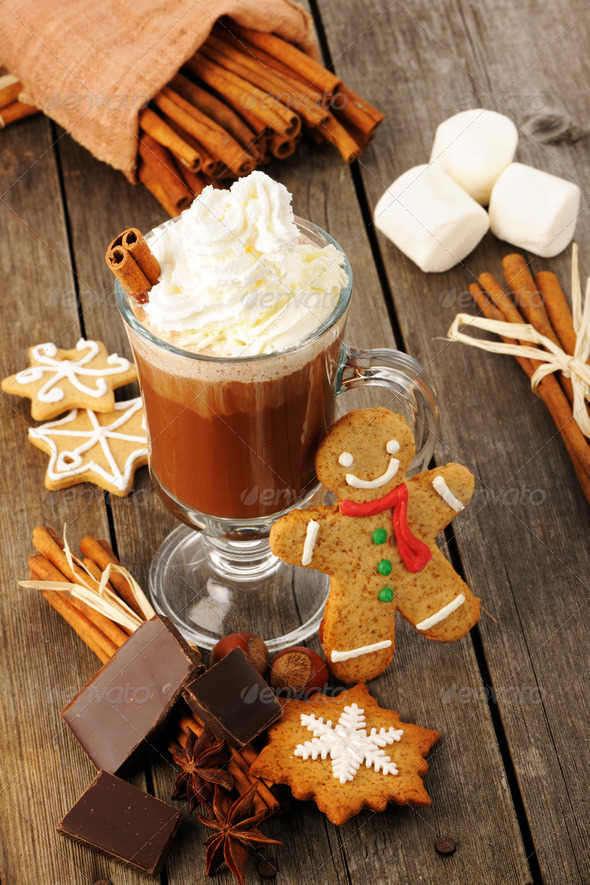 Hot chocolate - Stock Photo - Images