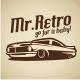 Retro Car V.1 Logo Template - GraphicRiver Item for Sale