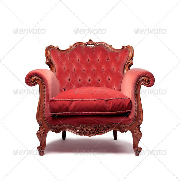 Vintage Armchair - Stock Photo - Images