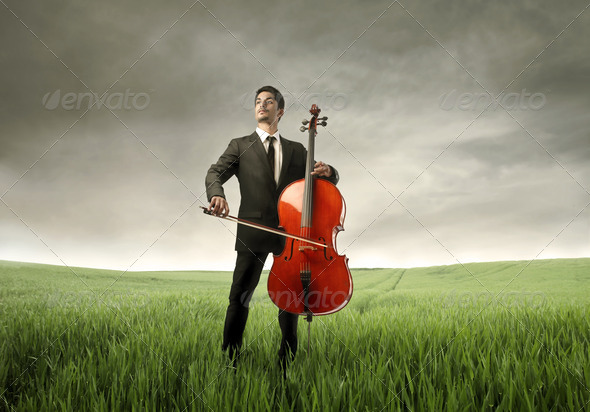 Violinist - Stock Photo - Images