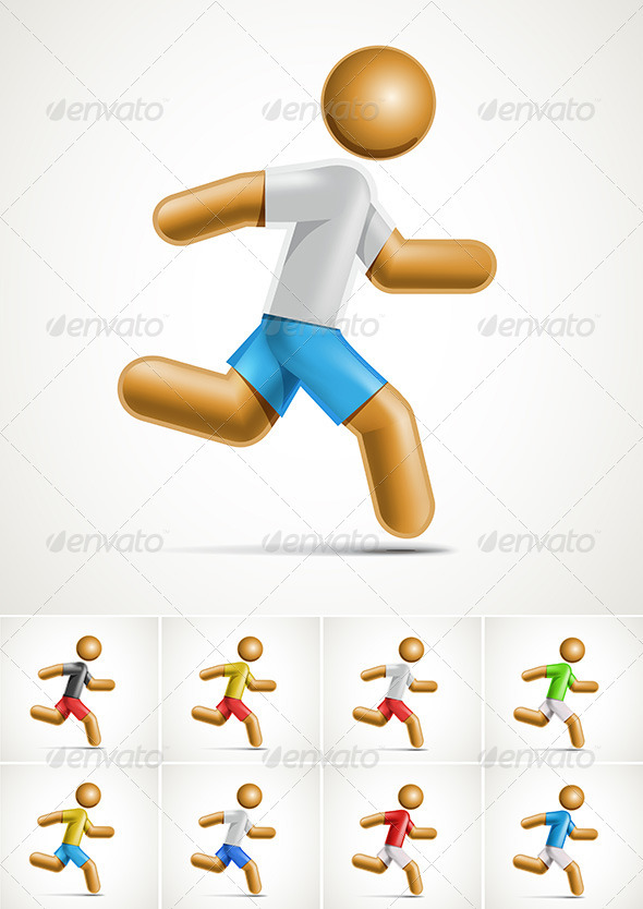 Running - Sports/Activity Conceptual
