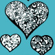 Doddle Heart Set - GraphicRiver Item for Sale