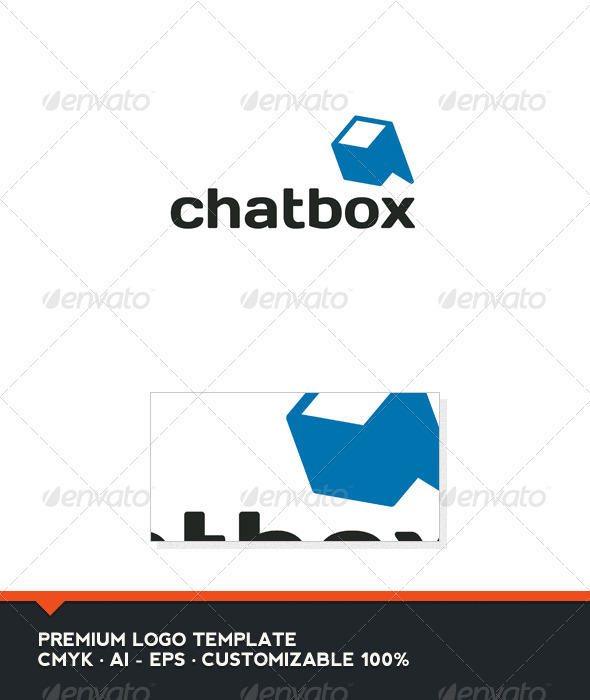 Chat Box Logo Template - Objects Logo Templates