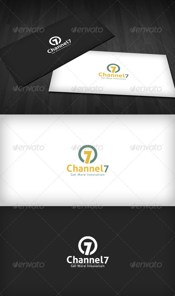 Channel 7 Logo - Numbers Logo Templates