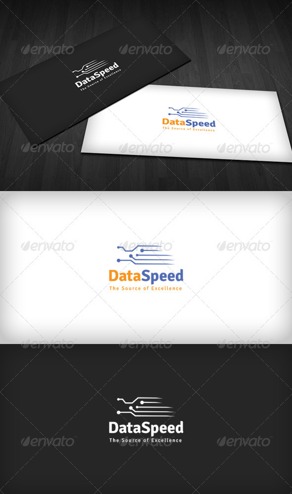 Data Speed Logo - Symbols Logo Templates
