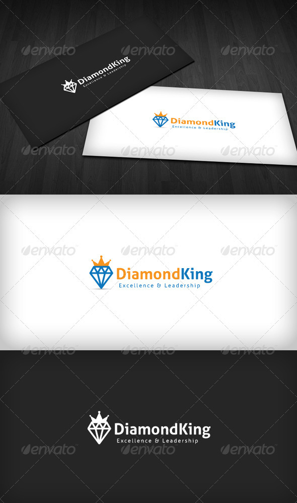 Diamond King Logo - Objects Logo Templates