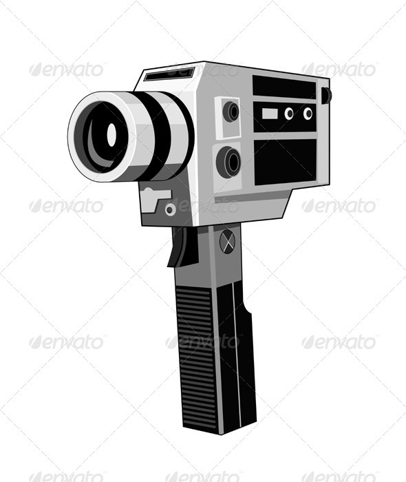 Vintage Video Camera Retro - Retro Technology