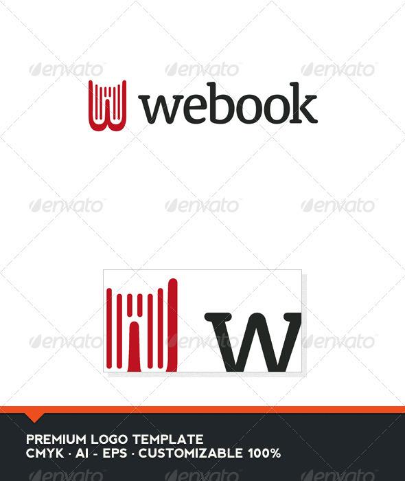 Webook Logo Template - Letters Logo Templates