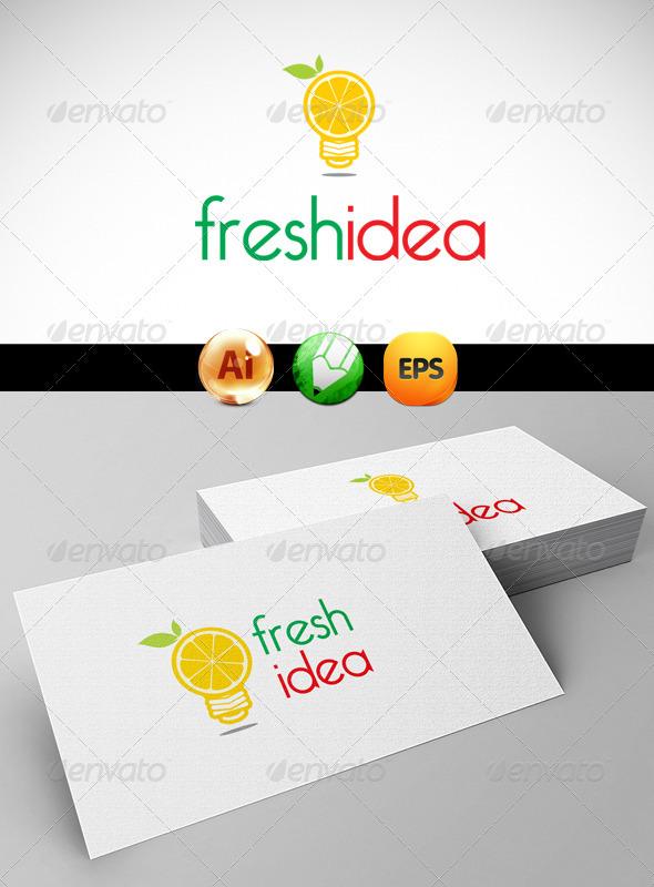 Fresh Idea Logo Templates - Symbols Logo Templates