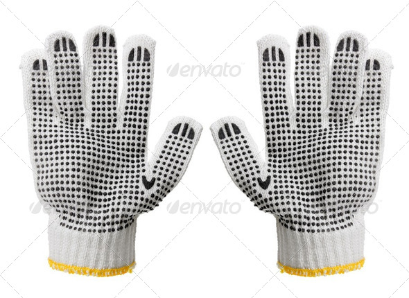 Work Gloves - Stock Photo - Images