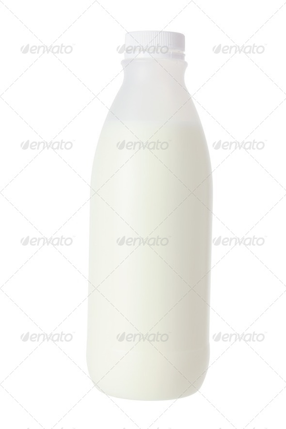 Milk Bottle - Stock Photo - Images