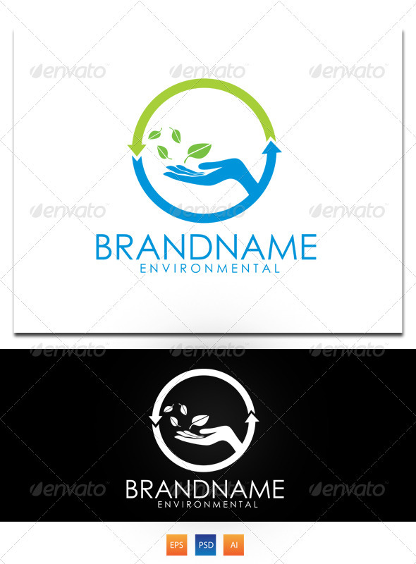 Air Emision logo  - Nature Logo Templates