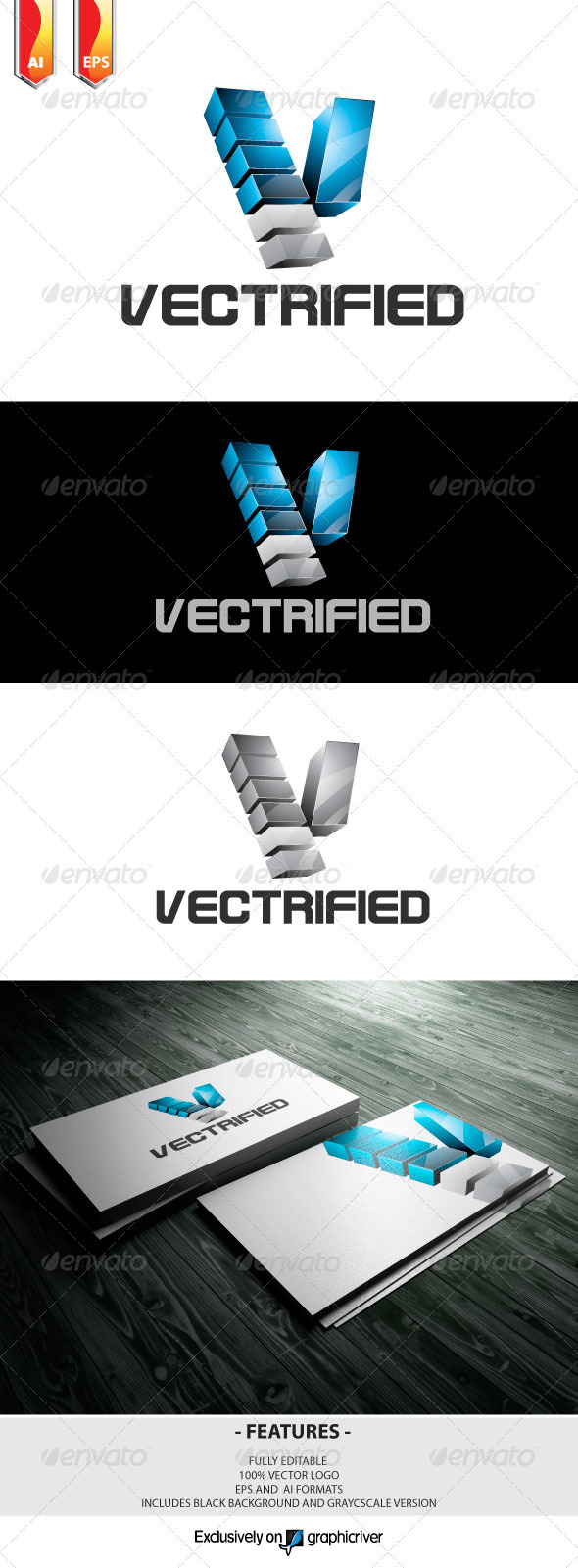 Vectrified Logo - Letters Logo Templates