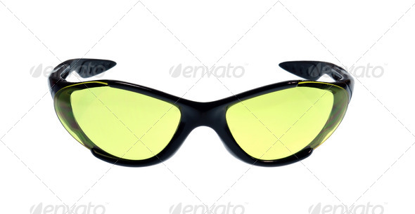 A Pair of Sport Sunglasses - Stock Photo - Images