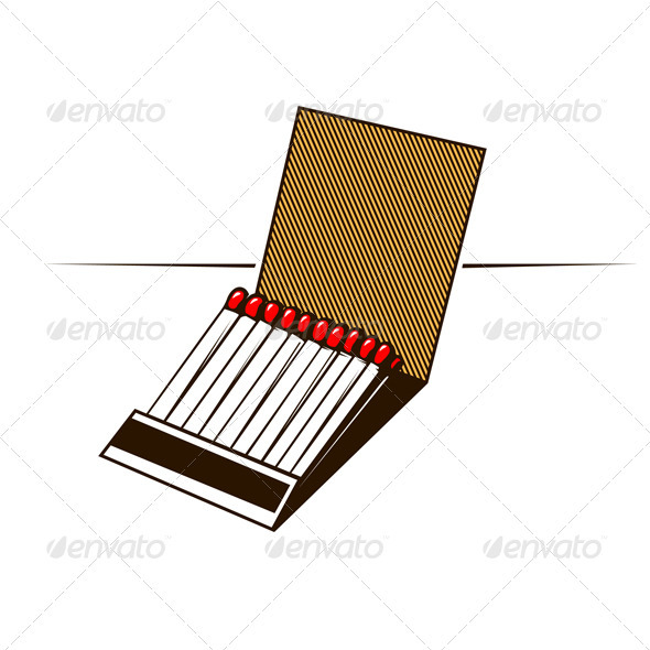 Matches Box  - Man-made Objects Objects