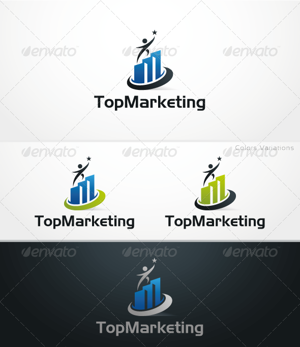 Top Marketing - Symbols Logo Templates