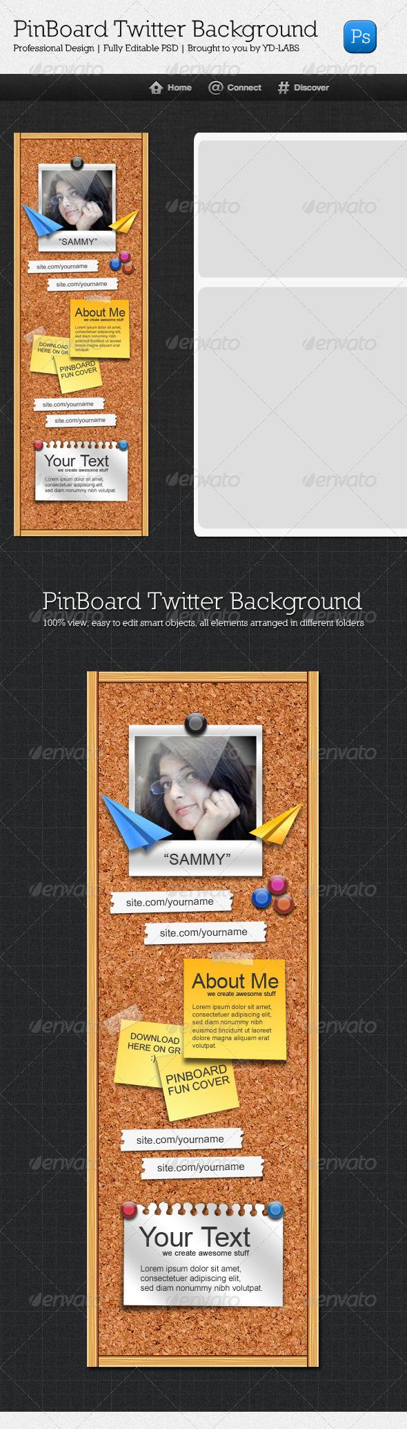 Twitter Pinboard - Twitter Social Media