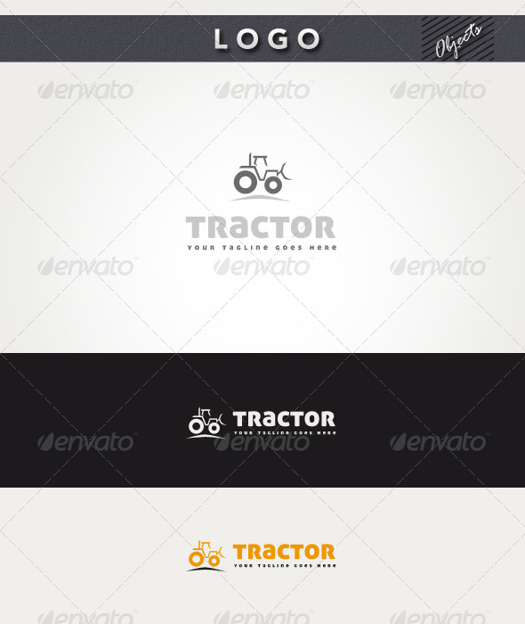 Tractor Logo - Objects Logo Templates
