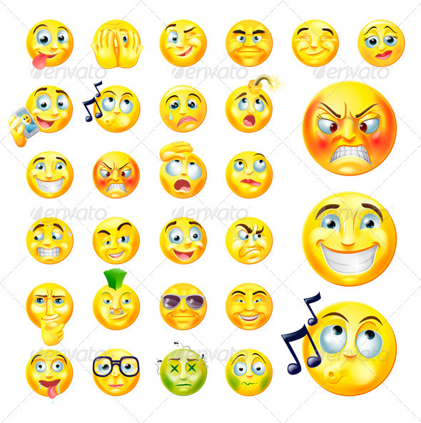 Emoticons - Miscellaneous Characters