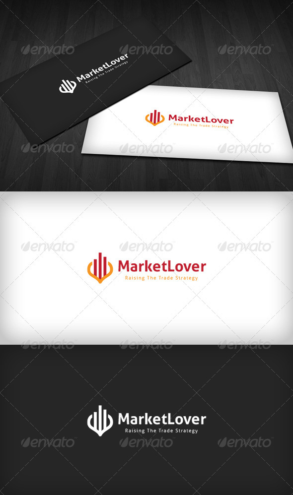 Market Lover Logo - Vector Abstract