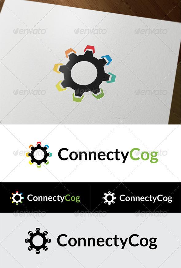 ConnectyCog - Symbols Logo Templates