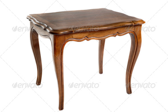 antique table - Stock Photo - Images