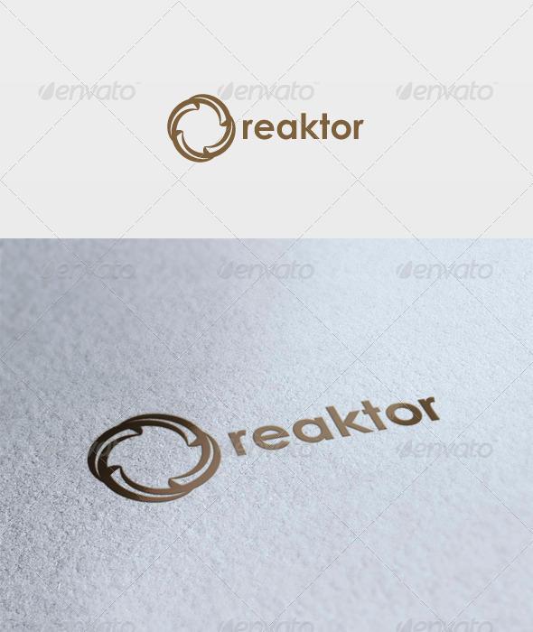 Reaktor Logo - Vector Abstract