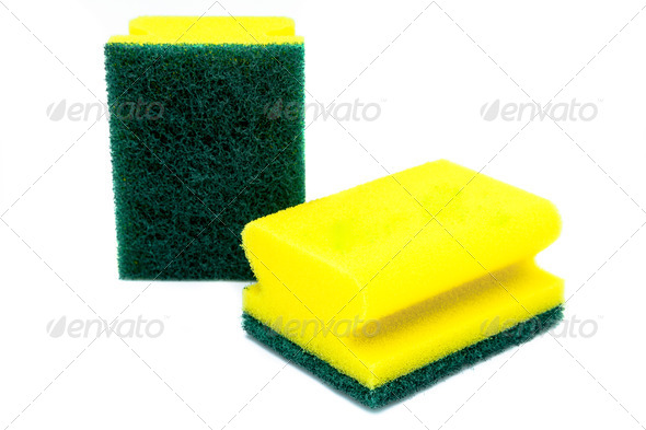 Two scourer - Stock Photo - Images