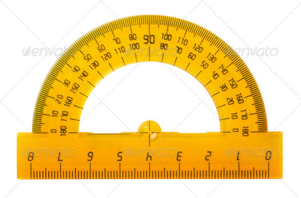 Protractor - Stock Photo - Images