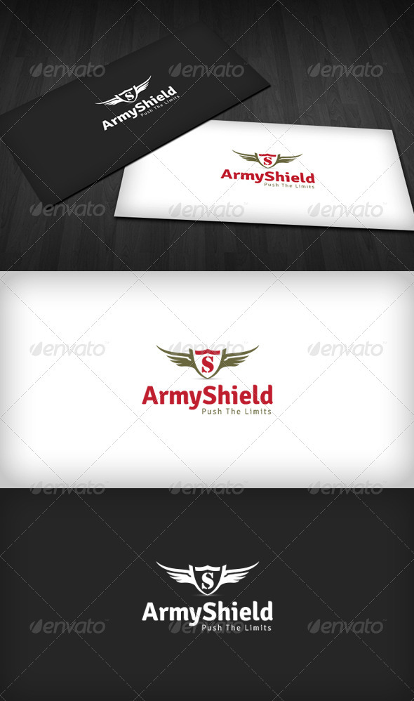 Army Shield Logo - Symbols Logo Templates