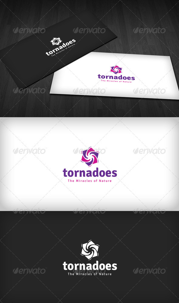 Tornadoes Logo - Nature Logo Templates