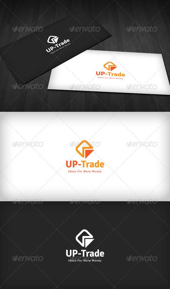 UP Trade Logo - Vector Abstract