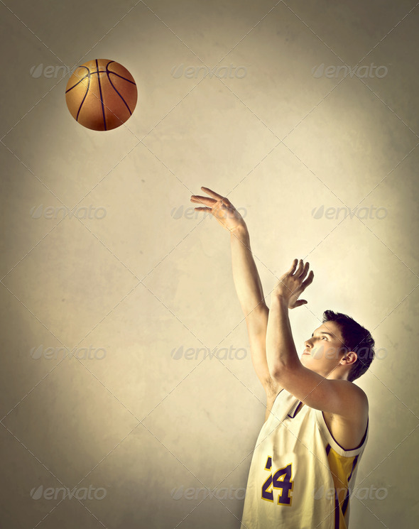 Basketball Player - Stock Photo - Images
