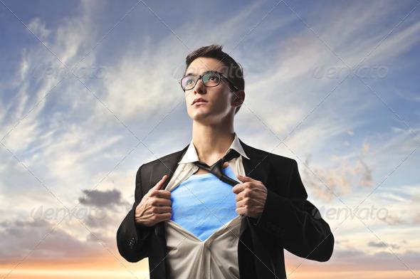 Superguy - Stock Photo - Images