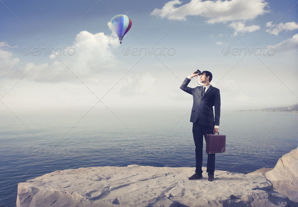 Looking Ahead - Stock Photo - Images