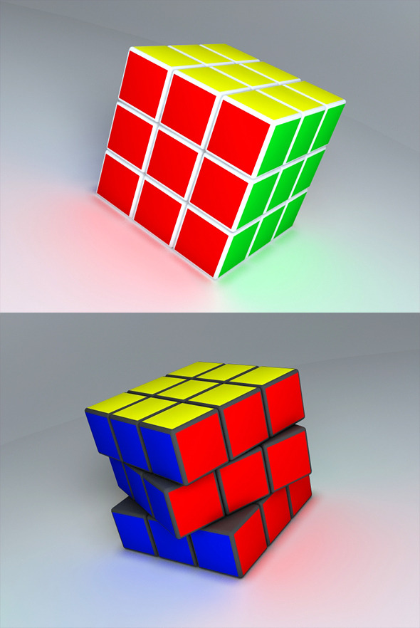 Rubik's Cube  - 3DOcean Item for Sale