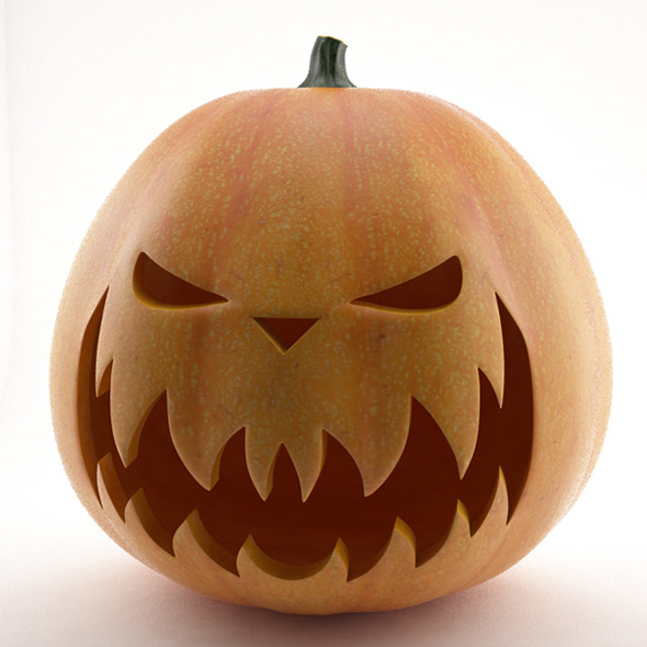 Halloween Pumpkin - 3DOcean Item for Sale