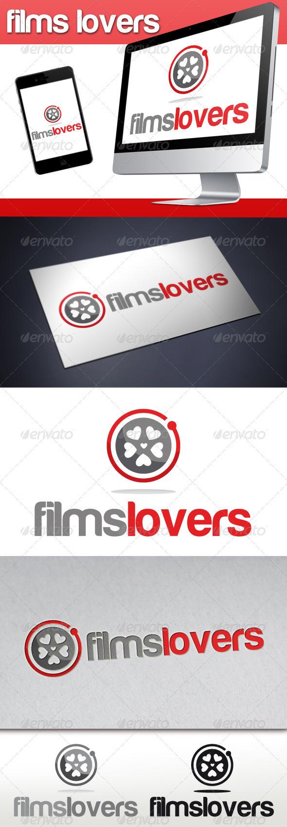 Films Lovers Logo - Symbols Logo Templates