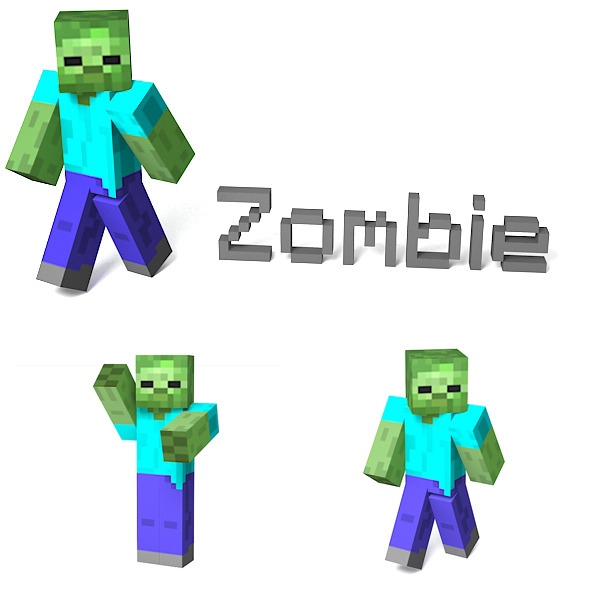 Zombie - 3DOcean Item for Sale