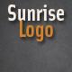 Sunrise Logo Reveal